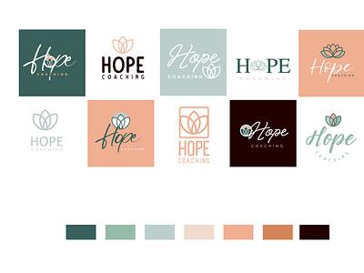 Round 1 lotus logo options round 1 concepts process logo branding design