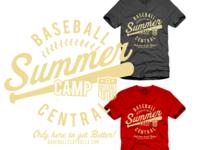 Summer Baseball Camp T