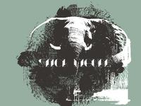Stick Figure Elephant