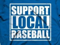 Support Local Baseball