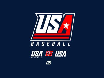 13U Baseball team enotsdesign usa logo design baseball