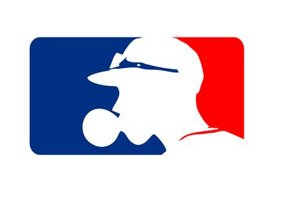 Baseball Central bubble gum sports logo baseball