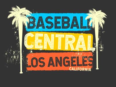 BC/LA Tourist Shirt la design shirts enotsdesign vintage sports logo baseball