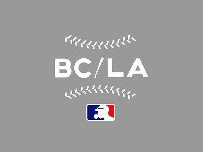 BC/LA Seams shirts logo design enotsdesign sports baseball