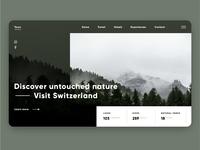 DailyUI 003 - Landing Page