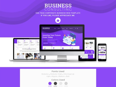 Business Consulting (Corporate Business Web Template)