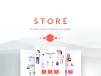 STORE Multipurpose Shopify Template