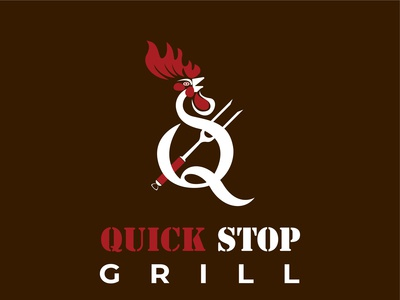 Grill Restaurant Logo Design