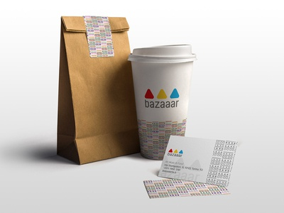 Take Away Packaging and Business Card