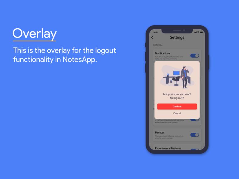 Daily UI - 016 / Overlay