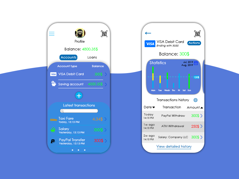 Mobile Banking Conception design mobile app design mobile app uiux mobile ui mobile banking