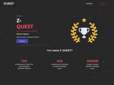 Z-QUEST — Main Page