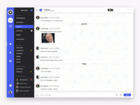 ZCHAT — chat page