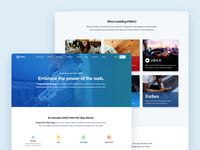 PWA Page Design - Embrace the Power of the Web