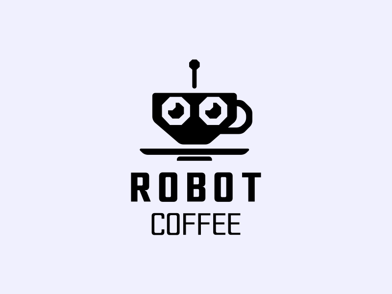 Robot Coffee by Sedki Alimam on Dribbble