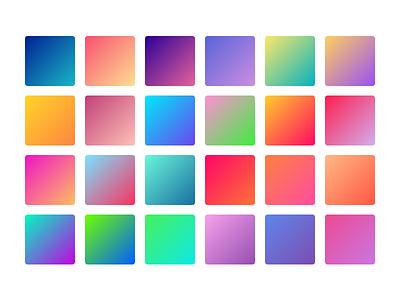 Gradients (Sketch freebie) resource ui download gradients palette free freebie colors gradient sketch