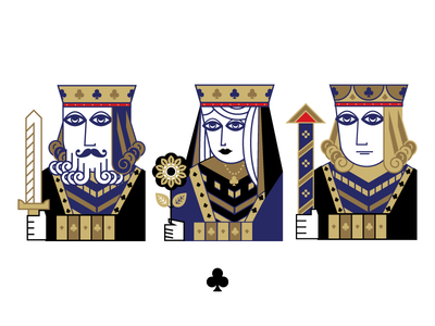 Clubs spades diamonds hearts blackjack poker black clubs cards playing cards king queen jack
