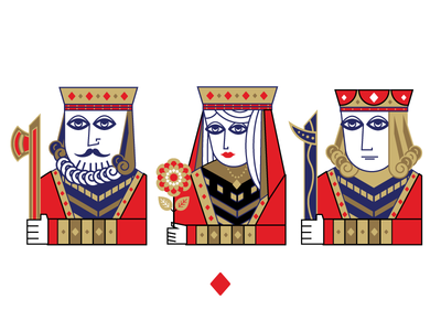 Diamonds spades diamonds hearts blackjack poker black clubs cards playing cards king queen jack
