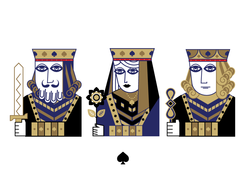 Spades by Sedki Alimam on Dribbble