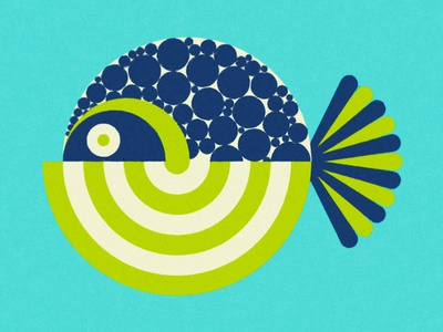 Fish water ocean sea face wild picasso abstract minimal animal fish