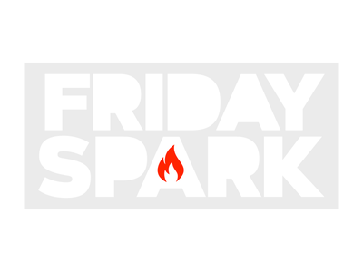 Friday Spark newsletter email flame logo flame logo spark friday