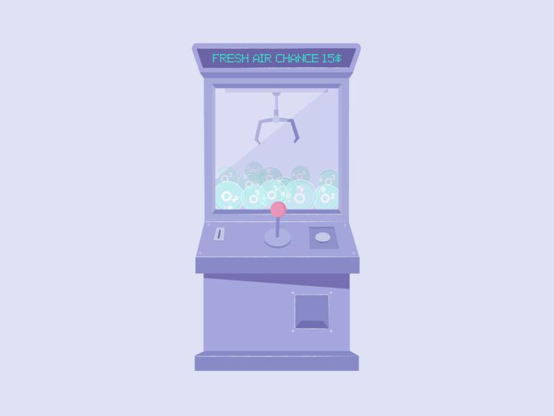 Quarantine Claw Machine