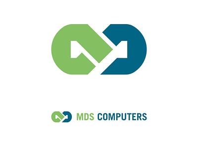 MDS COMPUTERS - UAE - IT Company technology uae positioning logos visualidentity rebrand graphicdesign branding dentity logo rebranding souheilk