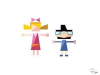 Helga + Phoebe