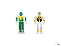 Green_White Ranger