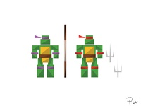 Donatello & Raphael
