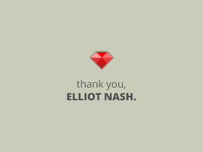Thanks elliot nash