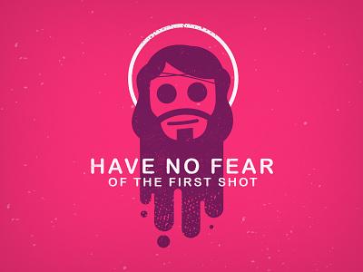 Hail Dribbble! jesus illustration thankyou hello dribbble