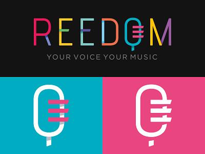 Reedom logo music branding