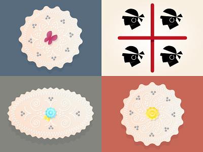 Pastissus design food illustration