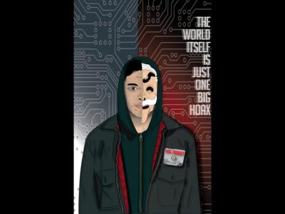 Mr Robot Portrait