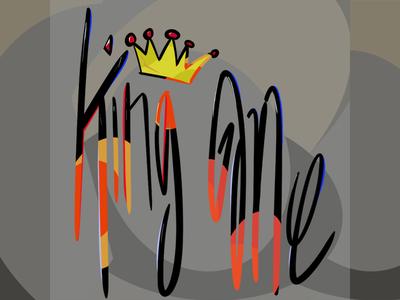 King Me Typography