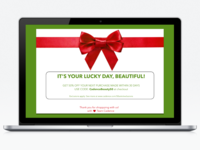Daily UI Challenge: Design a Special Offer