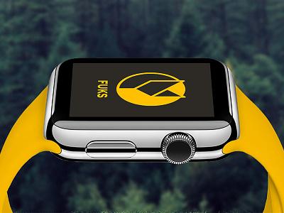 FUKS Apple Watch Concept paperswan outdoor fuks concept applewatch