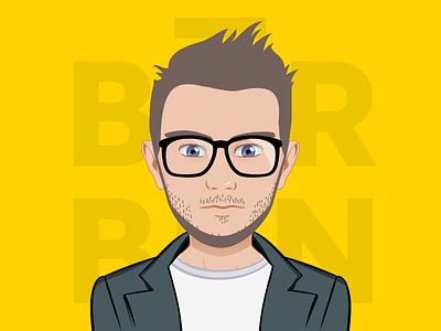 Benedickt_Avatar illustrator avatar avatargreator