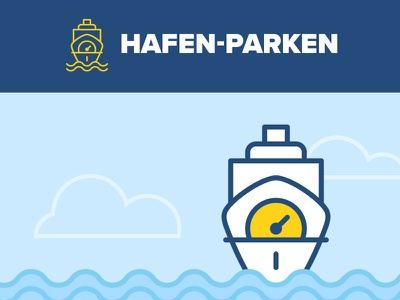 Hafen Parken ship harbour parking