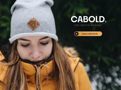 Cabold Banner by Nico Benedickt // Buero Benedickt clothes shop logodesign branding advertisement