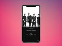 Daily UI 009 - Music Player