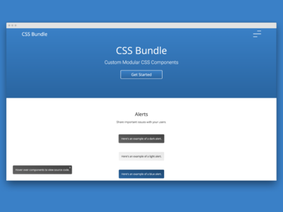 Css Bundle - Custom Modular CSS Components