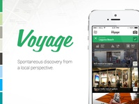 Voyage - Spontaneous Discovery from a Local Perspective.