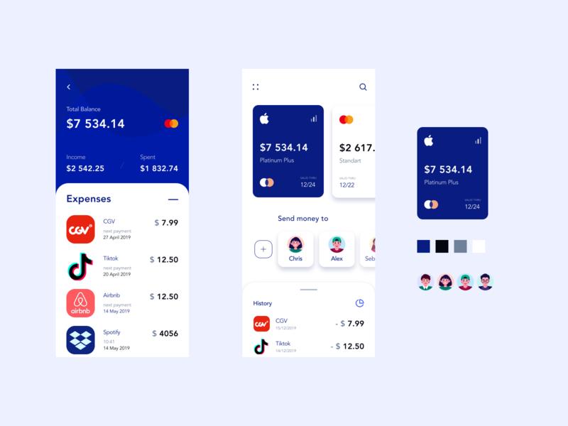 Social Pay ux icon design illustration app uiux