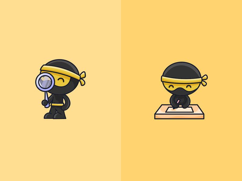 Ninja Character Poses Part 2