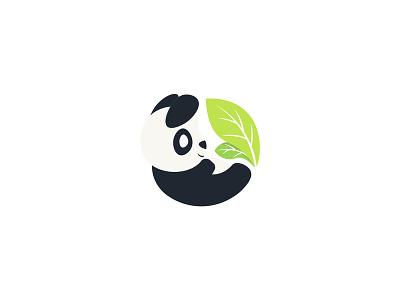 Panda Logo logo animal logo a day pandaearth panda logo panda bear pandas panda design branding logo logo design illustration cute animal