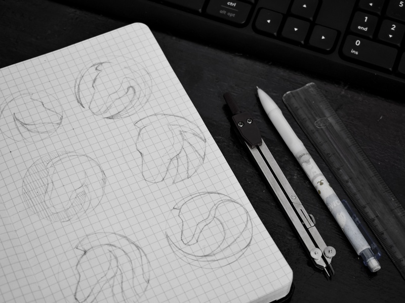 Horse logo design exploration ui app icons app icon drawing sketchbook sketches horsesketch horses horse art illustration branding vector horselogo gradient logo design logo