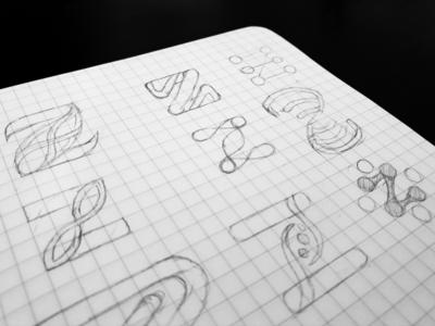 Logo Design Exploration (Z Alphabet)