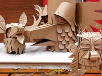 Cardboard fun